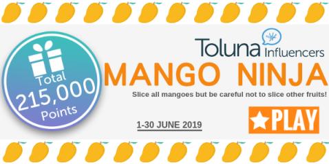 Mango Ninja email header